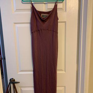 Anthropology Bias Slip Dress